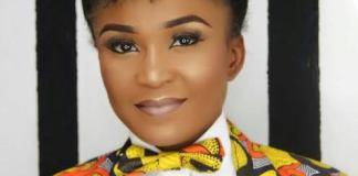 Actress Ruth Eze