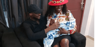 Tuface and wife