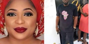 Married Actress Kemi Afolabi Clashes With A Woman Over Actor Gida Sulaimon (Photograph)