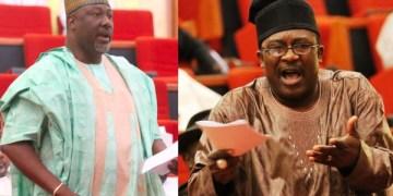 Dino Melaye, Smart Adeyemi Trade Words Over Outcome Of Kogi West Senatorial District Election