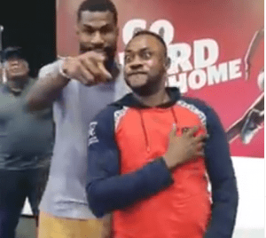 BBNaija Mike Noticed Grooving With Actor Odunlade Adekola (VIDEO)