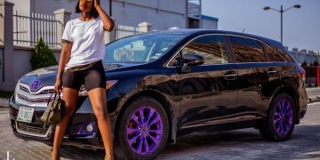 Reality Star, Alex Unusual Flaunts Her Ride In Hot Pictures