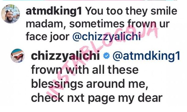 , Actress, Chizzy Alichi Fires Back At Fan Who Says She Smiles Too Much, All 9ja
