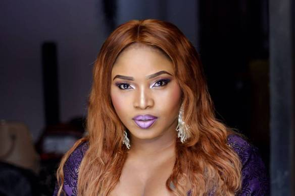 Actress Halima Abubakar Drags Slay Queen, Slay Mama Title With Fan (Picture)