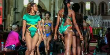 Drama As Church Holds Runway Bikini Beauty Pageant  (Video)