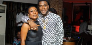 Burnaboy and mom