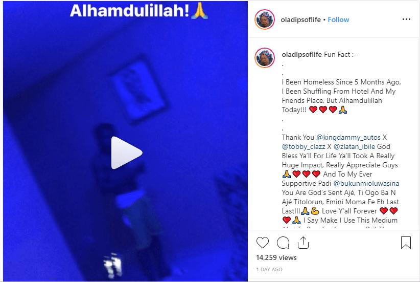 Oladips post
