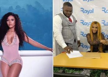 Reality Star, Mercy Becomes Brand Ambassador For Sims Nigeria