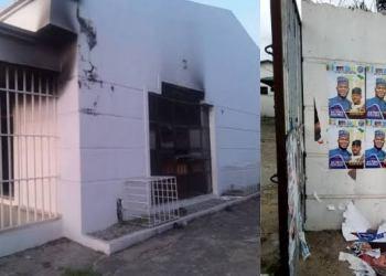 Ahead Of Election, Hoodlums Burn Down SDP Secretariat In Kogi