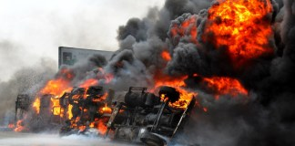 Petrol Tanker Explosion
