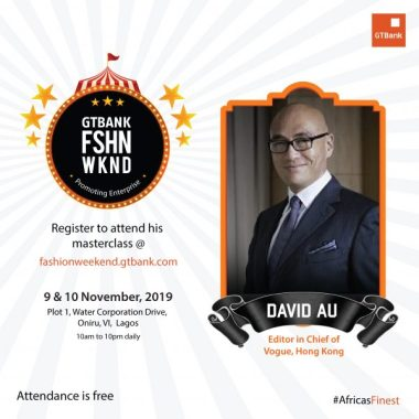 More Fashion Industry Experts Announced for the GTBank Fashion Weekend Masterclass