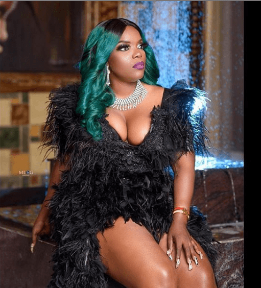 You Are Not Important – Troll Slams Empress Njamah After Rita Dominic Failed To Invite Her To Her Party