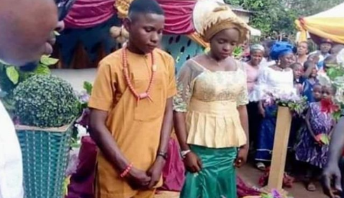 Somto and his 16-year-old wife