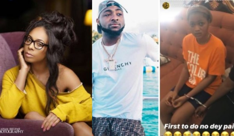 Pregnancy Prank: TBoss Slams Davido For Parading His Accusers In Handcuffs