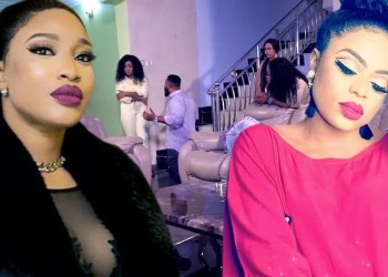 Tonto Dikeh, Bobrisky Kicked Out Of Event In Dubai (Video)