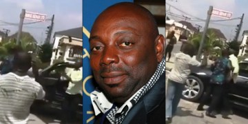Actor Segun Arinze Reportedly Brutalizes Houseboy For Using His Car Without Permission