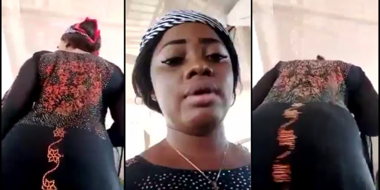 Nigerian Lady Twerks In Church During Tithe And Offering Session (Video)