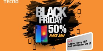 TECNO Delivered on the Black Friday offer as promised (50% reductions)