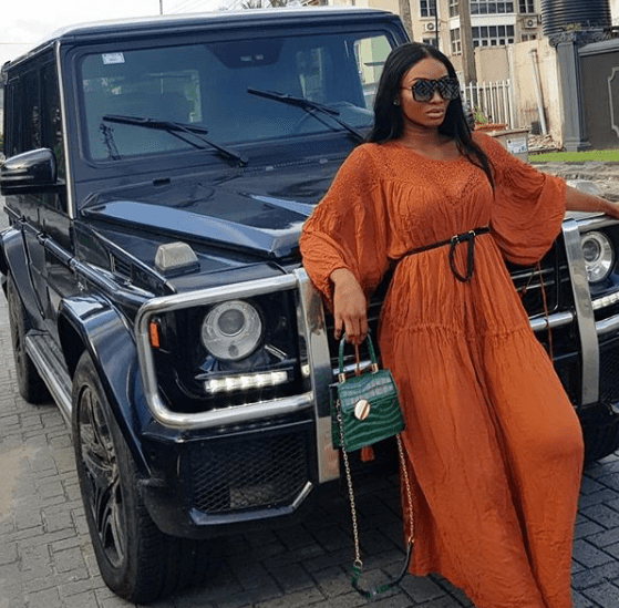 Popular Comedienne, Wofaifada Acquires Brand New G-Wagon (Pictures)
