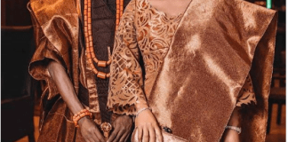 8ice and wife, Sunkami Ajala
