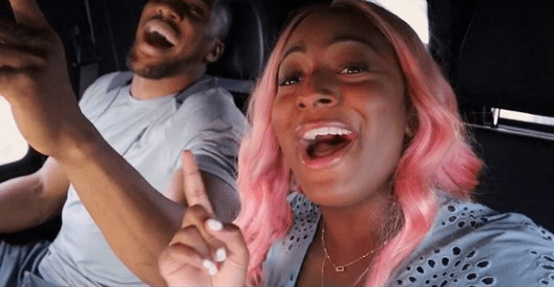 See How DJ Cuppy Celebrated Anthony Joshua's Victory (Photograph)
