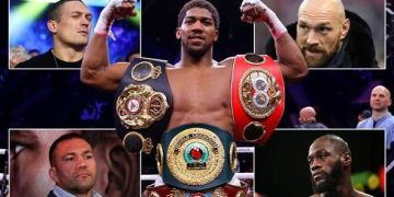 Anthony Joshua Will Present Belts To Buhari: Minister