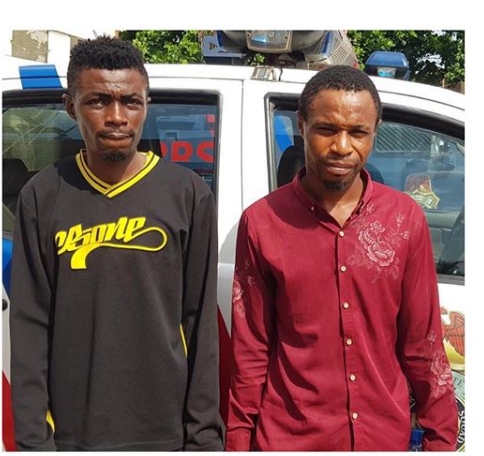 Police Arrest Two Over Alleged Fraud On Social Media
