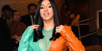 Cardi B Goes Crazy After Meeting Die Hard Fan In Ghana (Video)