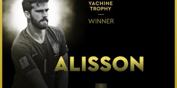 Ballon D'or 2019: Liverpool Goalie, Alisson Becker Named Best Goal Keeper