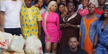 Cardi B Shares Pictures From Her Visit To Nigerian Orphanage Home (Picture)