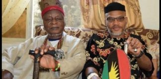 NNamdi Kanu and late father