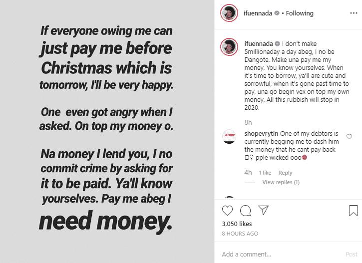Ifu Enada's post