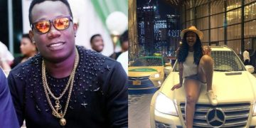 Duncan Mighty Mocks Etinosa Over Benz Present, Actress Fires Back (Photograph)