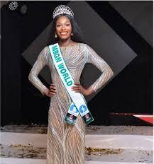 Miss Nigeria Reacts As Miss Jamaica Wins Miss World 2019 (Video)