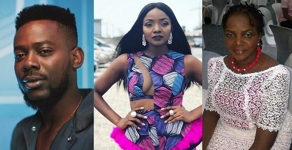 Adekunle Gold, Simi and her mother