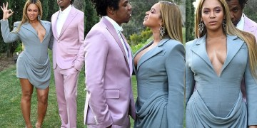 Beyonc, Jay-Z Strike Pose At Annual Roc Nation Pre-Grammy Brunch