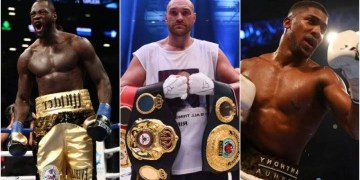Deontay Wilder Blasts AJ And Fury After Both Boxers Agreed To Train Together