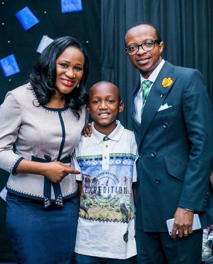 L-R Sumbo Adeoye, Nino Idibia and Pator Adeoye