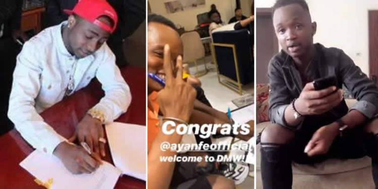 Davido Signs New Artiste, Ayanfe To DMW Records