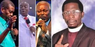 collage photo of Apostle Okikijesu and other Nigerian pastors