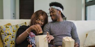 Priscilla Ojo and Korede Bello