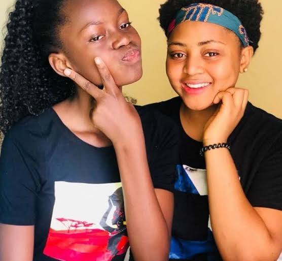 7F9D76C3 22A7 4D52 9A77 800860305820 - Regina Daniels Splashes IPhone 11, Bouquet Of Flowers, Money On Her Sister (Video)