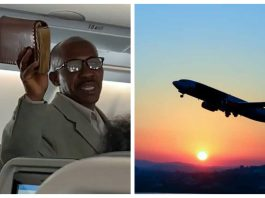 Aviation pastor preaches on plane