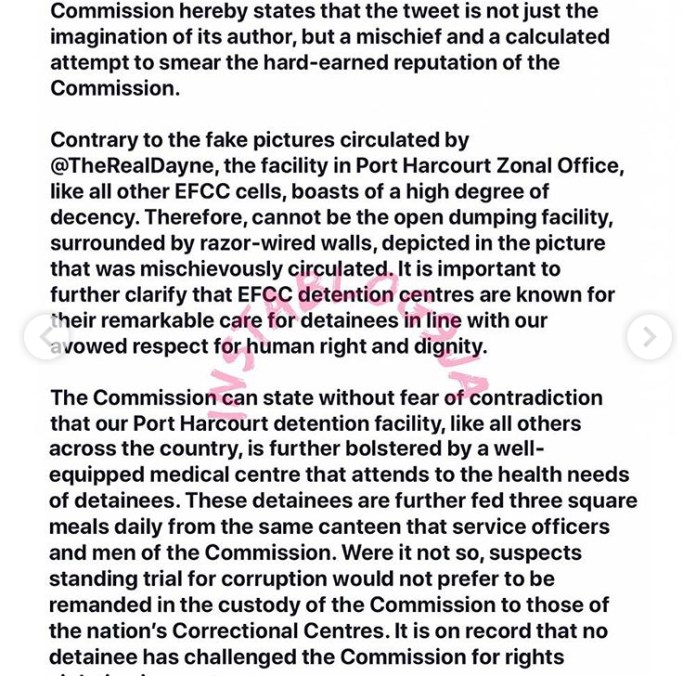 EFCC cell in Rivers