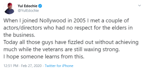 Capture 51 - Disrespectful Actors Have All Fizzled Out Of Movie Industry – Yul Edochie