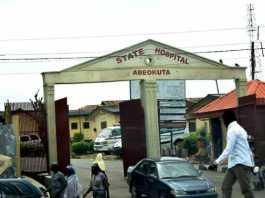 Ogun state hospital main entrance