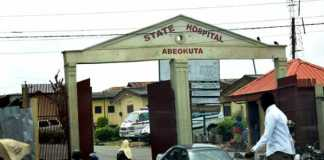 Ogun state hospital main entrance