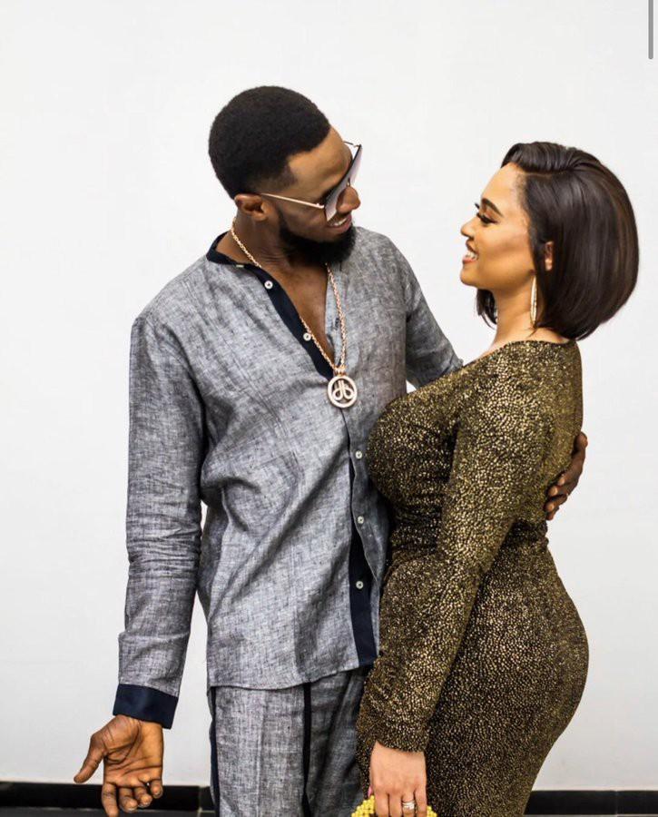 Dbanj Showers Encomium On His Wife On Her Birthday