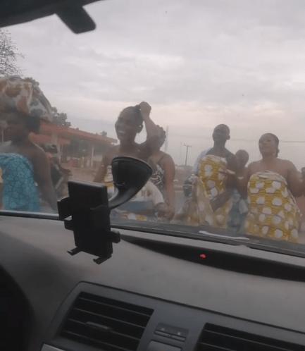 The women praying against coronavirus