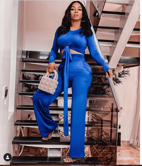 COVID 19: Toke Makinwa Reacts After She Was Called Out For Saying China Should Be Fined